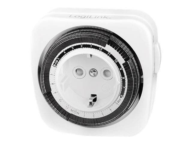 LogiLink ET0011 - Timer - kabelgebunden - weiß