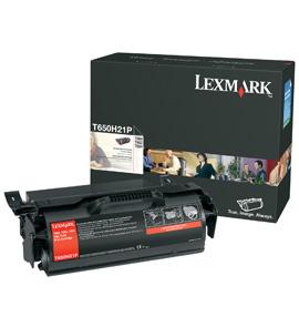 Lexmark T650H80G Lasertoner 25000Seiten Schwarz Lasertoner / Patrone