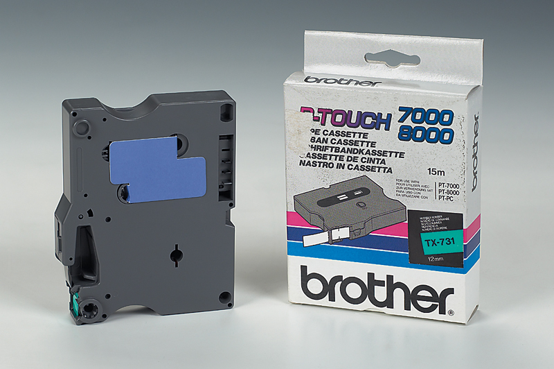 Brother TX-731 TX Etiketten erstellendes Band