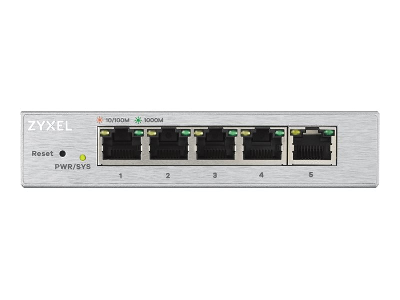 ZyXEL GS1200-5 - Switch - managed - 5 x 10/100/1000
