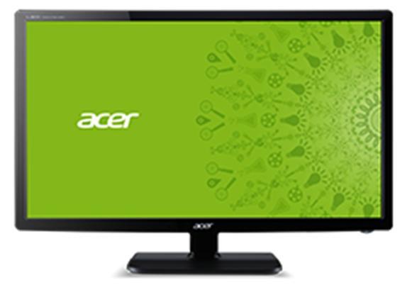 Acer B6 B246HLymdpr - 61 cm (24 Zoll) - 1920 x 1080 Pixel - Full HD - LCD - 5 ms - Grau