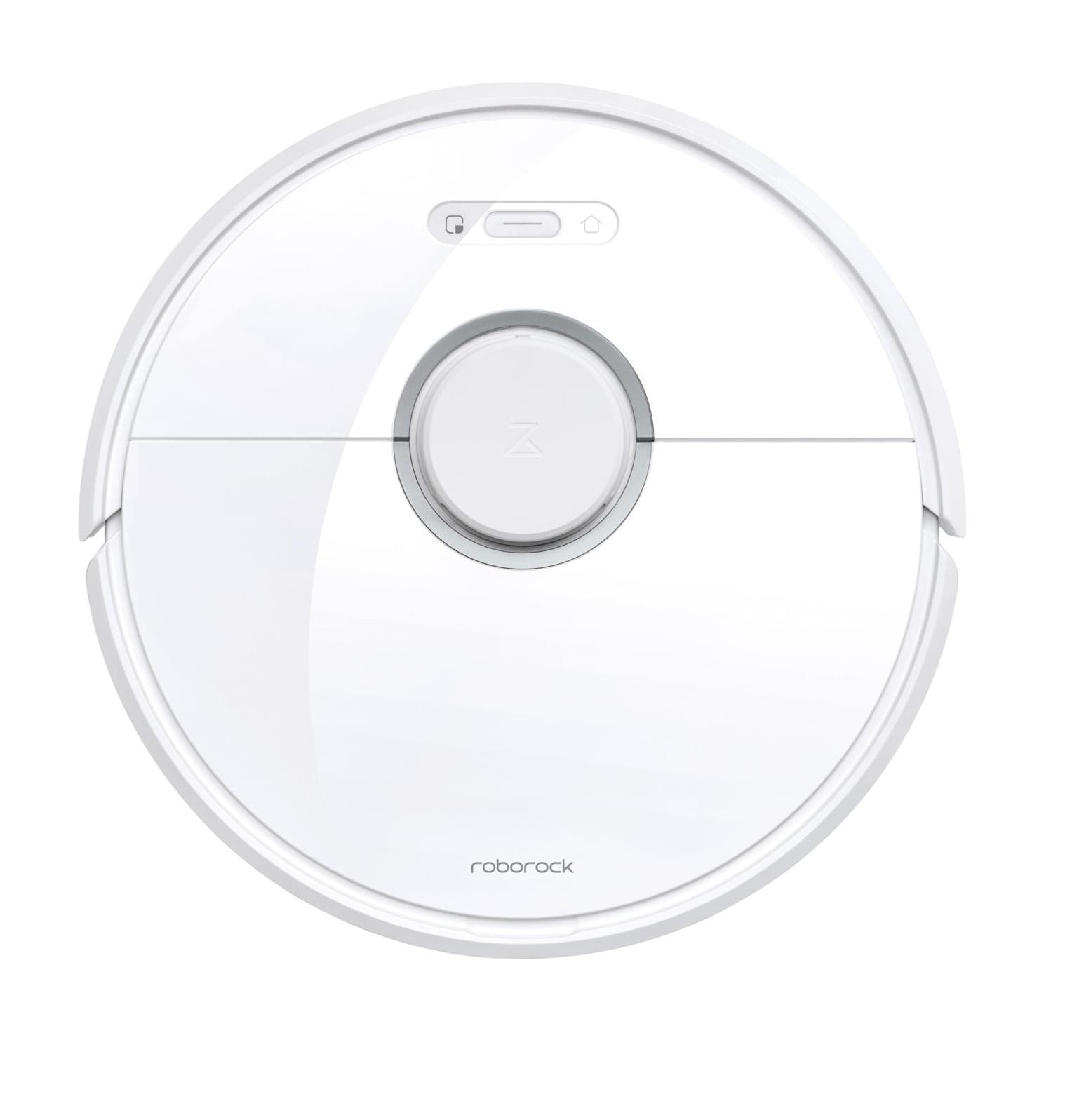 Roborock Xiaomi Roborock S6 - Beutellos - Weiß - Rund - 0,48 l - 58 dB - Teppich - Harter Boden