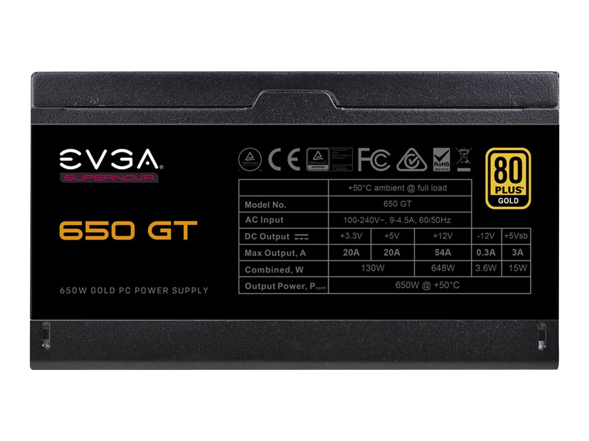EVGA SuperNOVA 650 GT - Netzteil (intern) - ATX12V / EPS12V