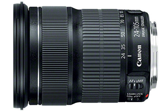 Canon EF 24-105mm f/3.5-5.6 IS STM SLR Standard zoom lens Schwarz