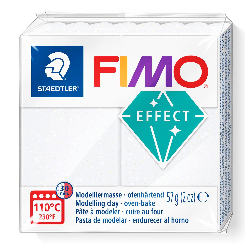 Vorschau: STAEDTLER FIMO 8020 - Knetmasse - Weiß - Erwachsene - 1 Stück(e) - Glitter white - 1 Farben