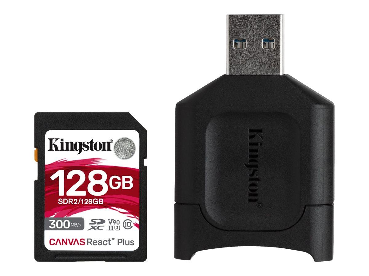 Kingston Canvas React Plus - Flash-Speicherkarte