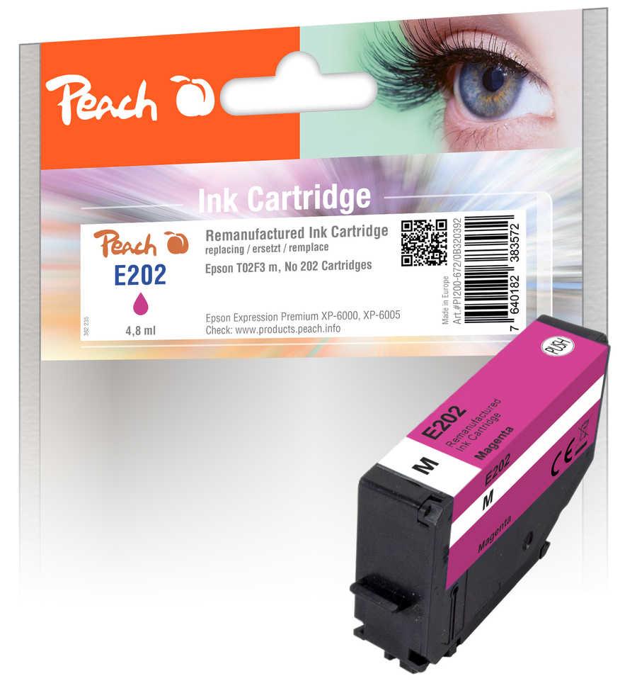 Peach Patrone Epson No. 202 mag PEA T02F3 REM FW