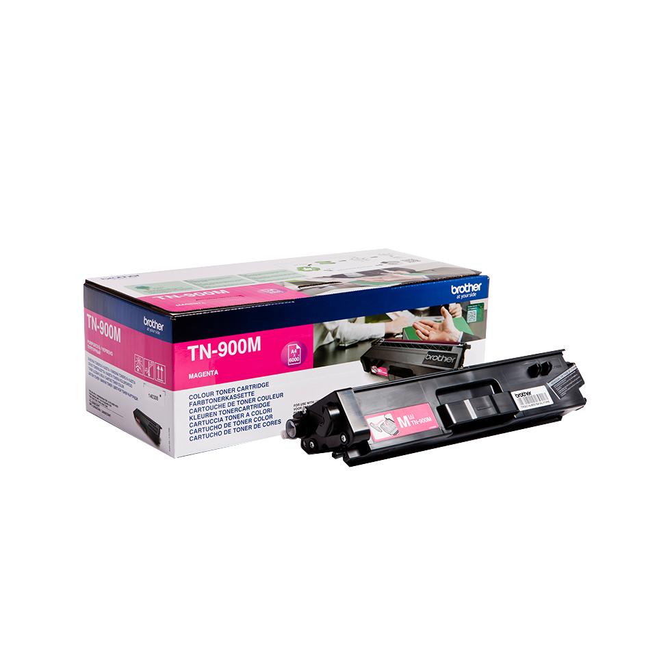 Brother TN-900M Laser cartridge 6000Seiten Magenta Lasertoner / Patrone
