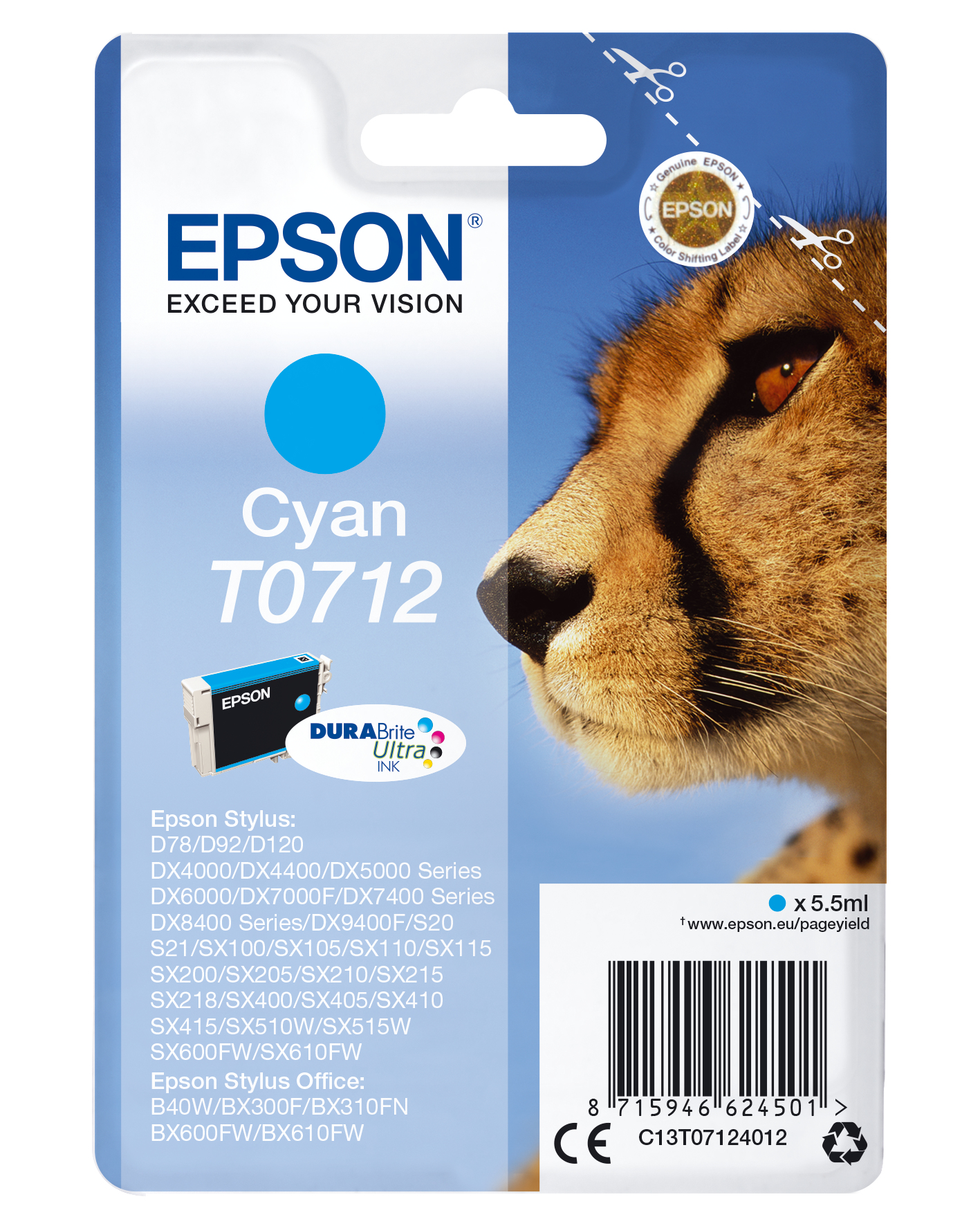 Epson C13T07124012