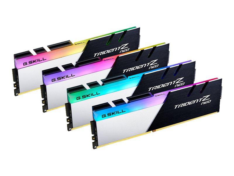 G.Skill TridentZ Neo Series - DDR4 - kit - 128 GB: 4 x 32 GB