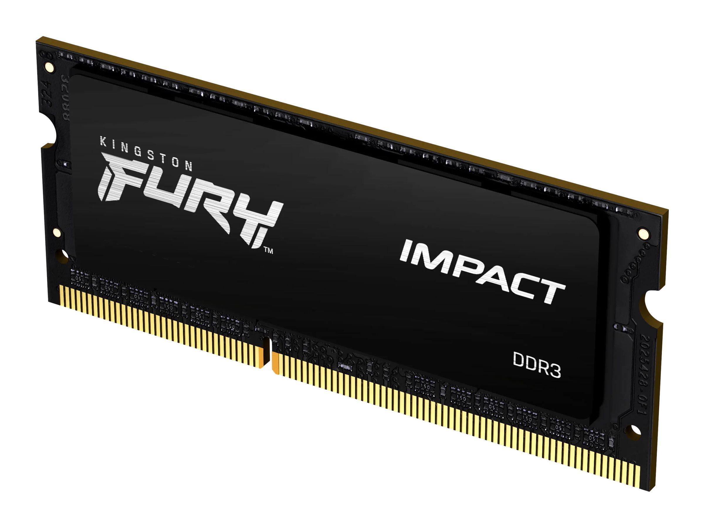 Kingston FURY Impact - DDR3L - Modul - 8 GB - SO DIMM 204-PIN