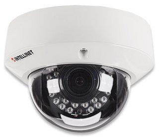Intellinet IDC-757IR IP security camera Innen & Außen Kuppel Schwarz - Weiß