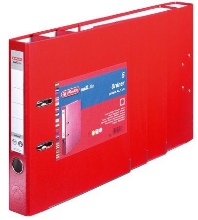 Vorschau: Herlitz 9942582 - A4 - Polypropylen (PP) - Rot - 5 cm - 5 Stück(e)