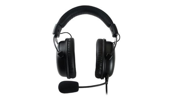 QPAD QH-95 - Kopfhörer - Kopfband - Gaming - Schwarz - Binaural - SCR-Steuereinheit