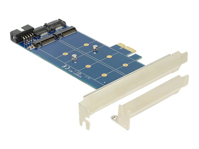 Delock PCI Express Card   2 x internal M.2 NGFF