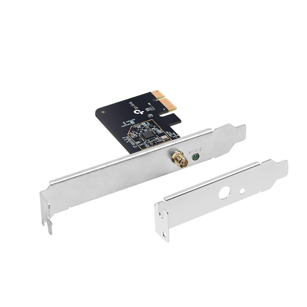 TP-LINK Archer T2E - Eingebaut - Kabellos - PCI Express - WLAN - 433 Mbit/s - Schwarz - Silber