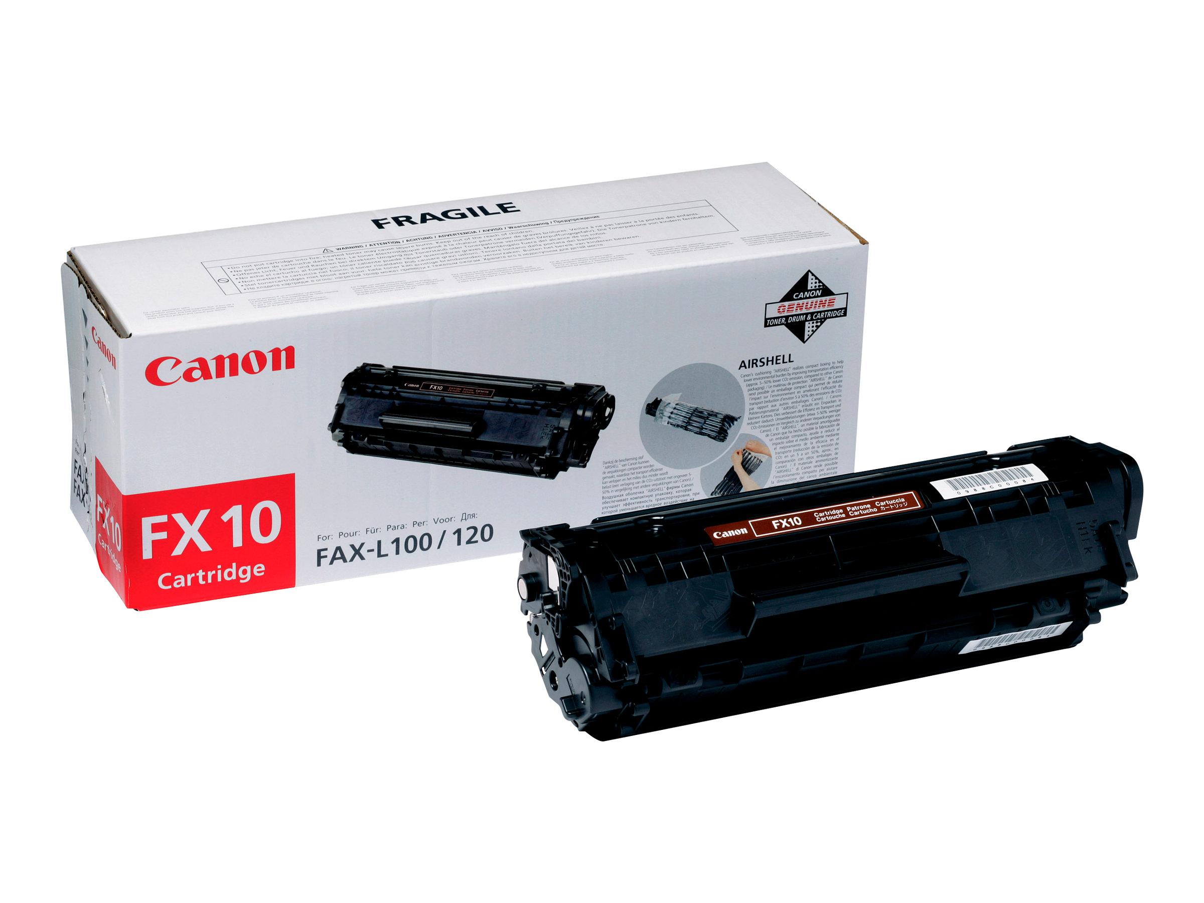 Canon FX-10 - Schwarz - Original - Tonerpatrone