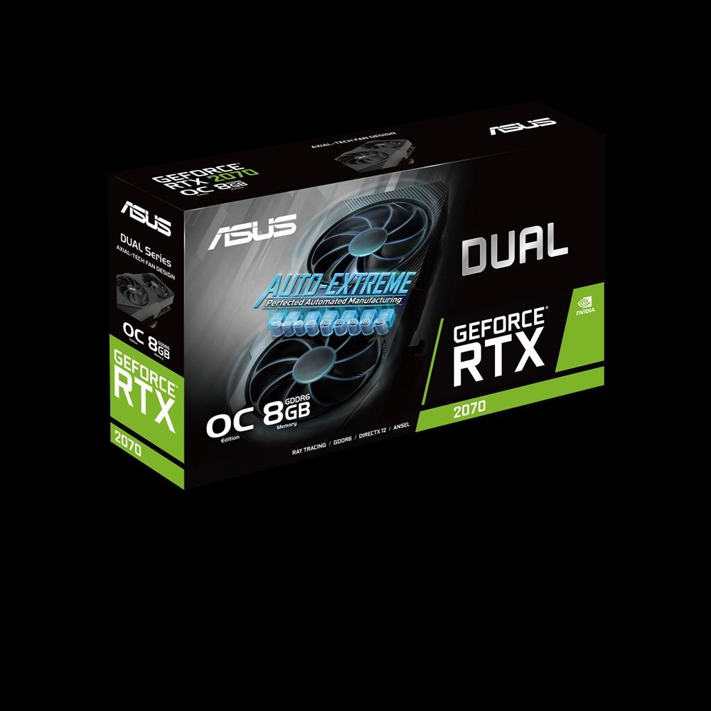ASUS DUAL-RTX2070-O8G-EVO-V2 - OC Edition - Grafikkarten