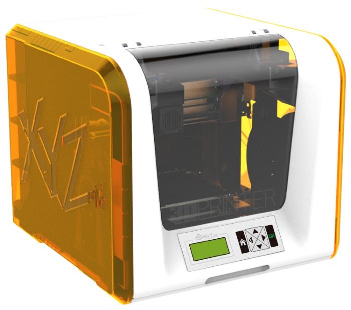 XYZprinting da Vinci Junior 1.0 Schmelzfadenherstellung (FFF) Wei? 3D-Drucker