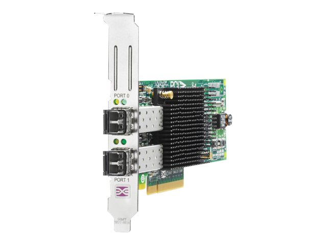 HPE 82E 8Gb Dual-port PCI-e FC HBA (AJ763B) - REFURB