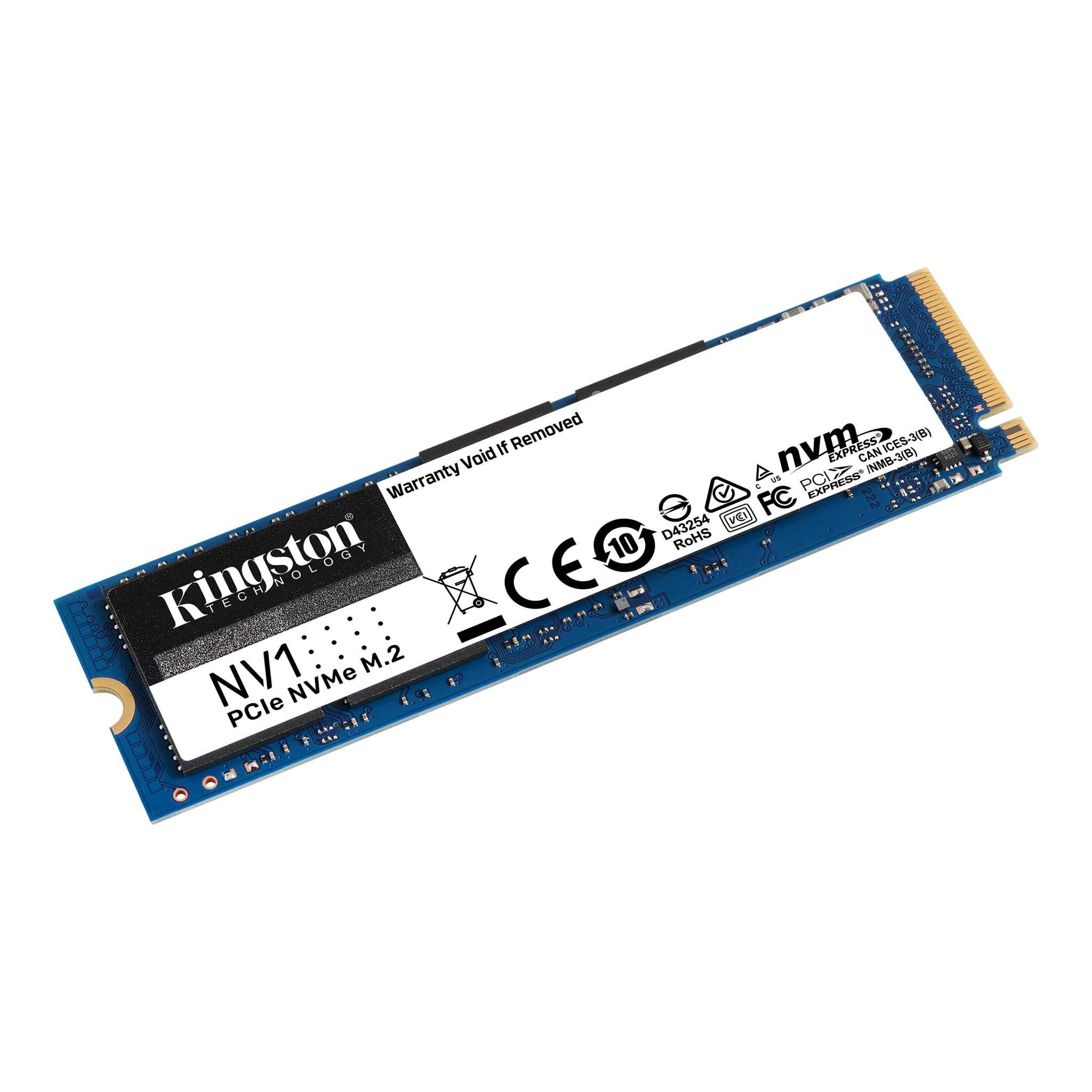 Kingston 2 TB SSD - intern - M.2 2280 - PCI Express 3.0 x4 (NVMe)