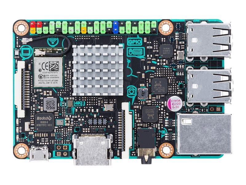ASUS Tinker Board - Einplatinenrechner - Rockchip RK3288 1.8 GHz