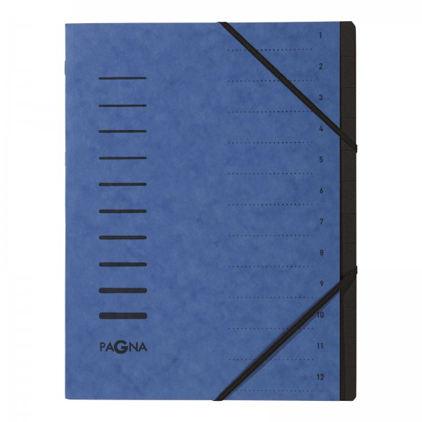 Pagna 40059-02 - A4 - Blau - Porträt - 245 mm - 5 mm - 320 mm