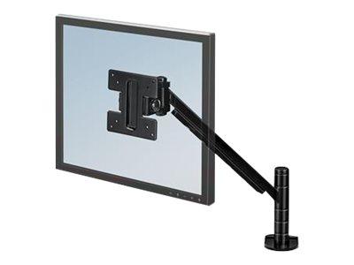 Fellowes Designer Suites Flat Panel Monitor Arm - Befestigungskit (Tragarm, Spannbefestigung für Tisch)