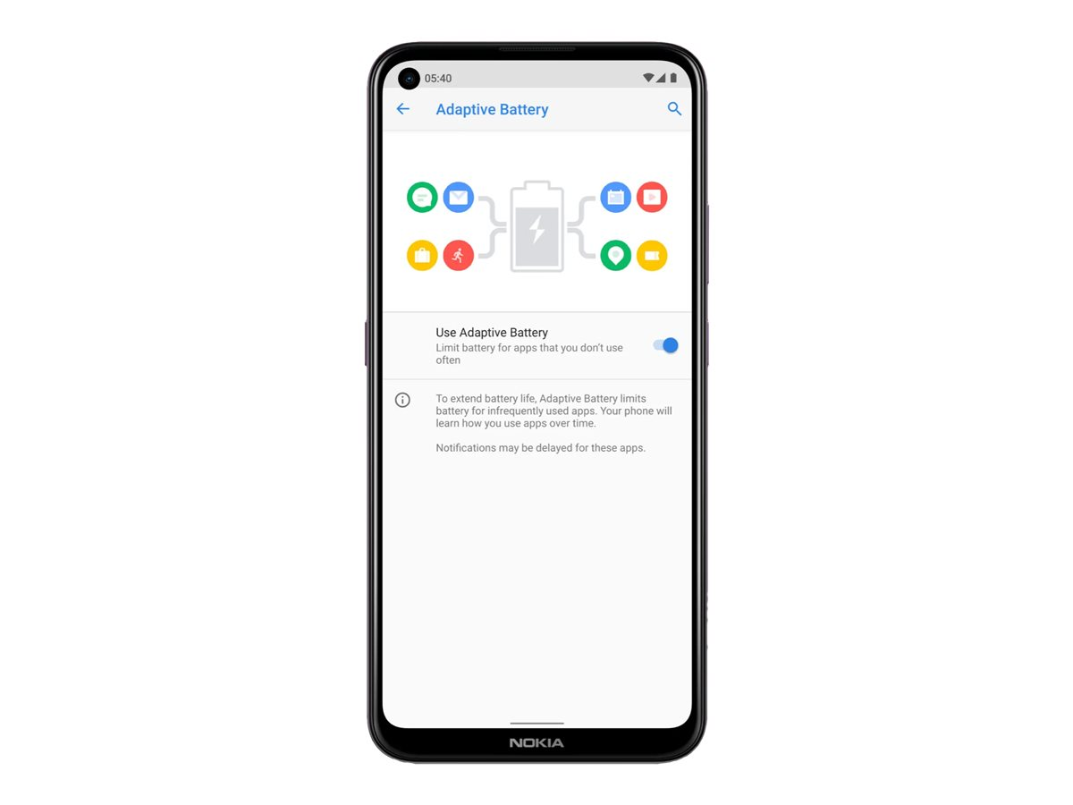 "Nokia 5.4 - Android One - Smartphone - Dual-SIM - 4G LTE - 128 GB - microSD slot - 6.39"" - RAM 4 GB (16 MP Vorderkamera)"