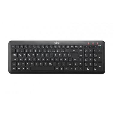 Fujitsu KB915 USB QWERTZ Deutsch Schwarz Tastatur