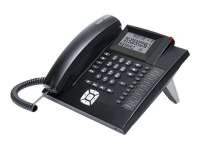 COMfortel 600 Analoges Telefon Schwarz Anrufer-Identifikation
