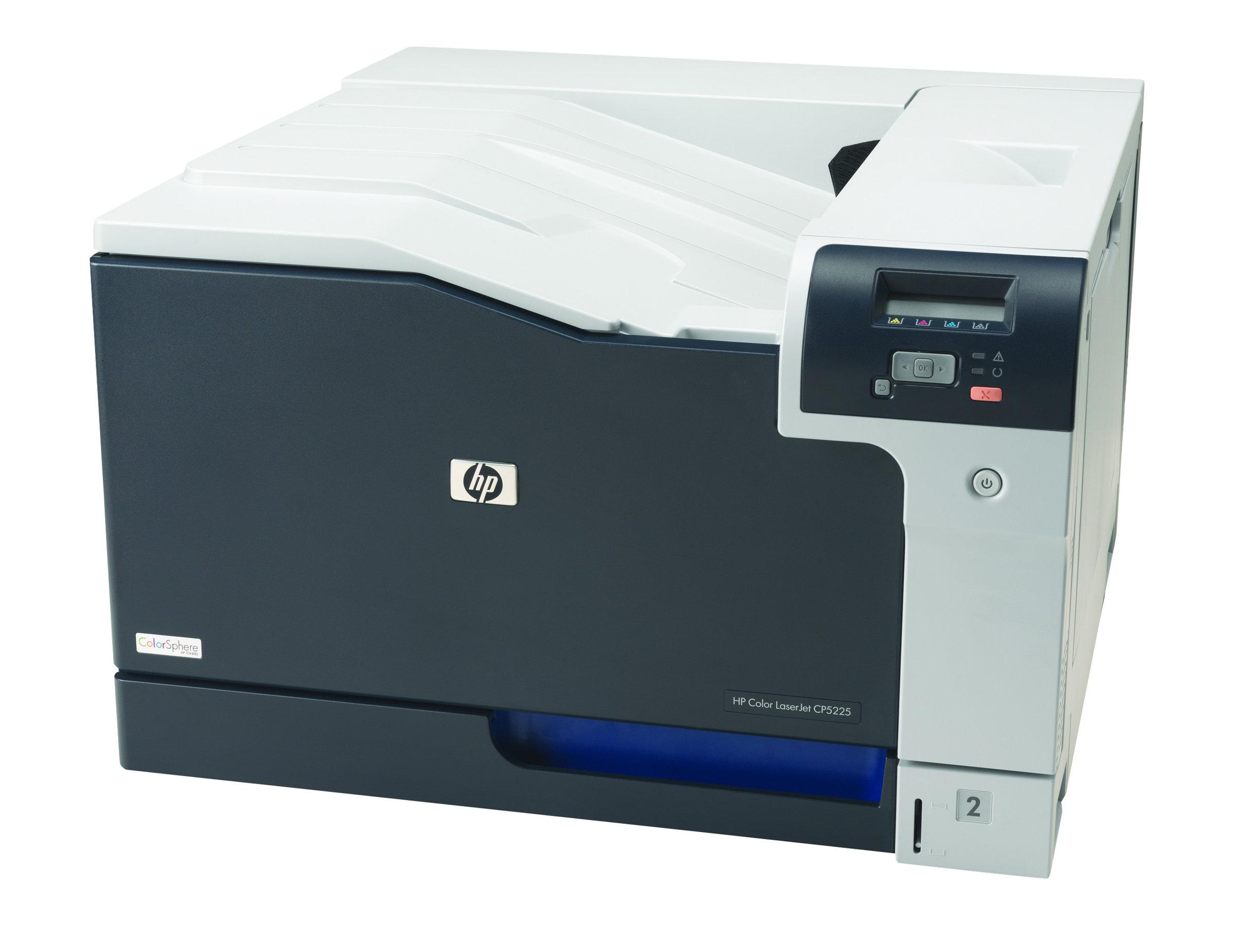 Vorschau: HP Color LaserJet Professional CP5225n - Drucker - Farbe - Laser - A3 - 600 dpi - bis zu 20 Seiten/Min. (einfarbig)/