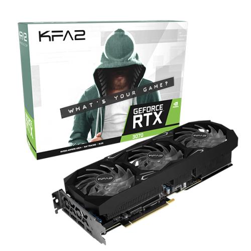 KFA2 GeForce RTX 3070 SG - GeForce RTX 3070 - 8 GB - GDDR6 - 256 Bit - PCI Express x16 4.0 - 3 Lüfter