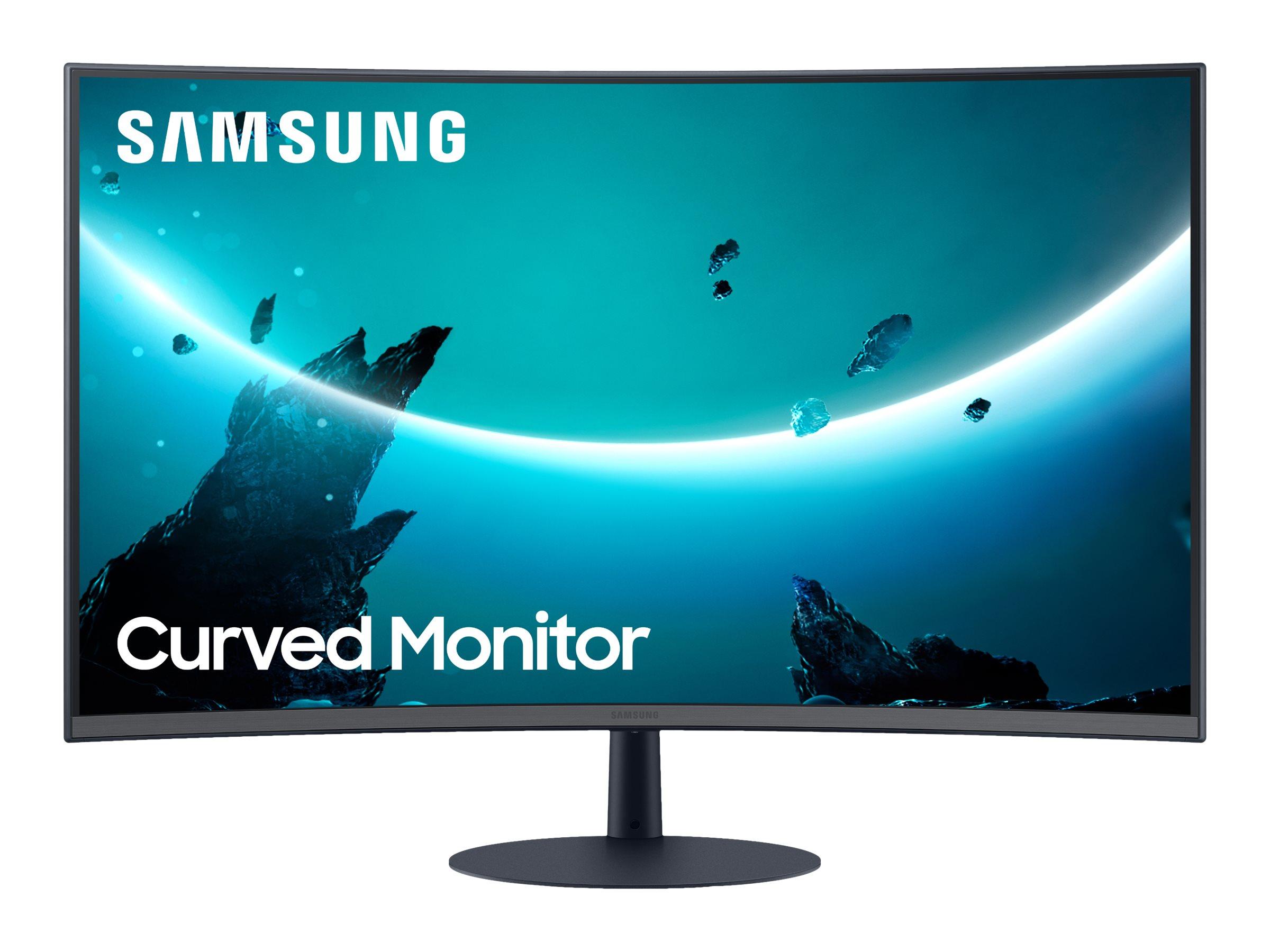 """Vorschau: Samsung C27T550FDU - T55 Series - LED-Monitor - gebogen - 68.6 cm (27"""")"""