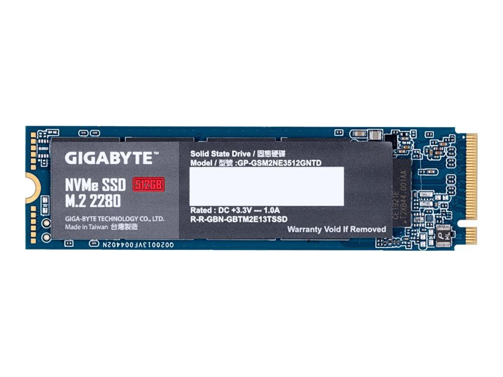 Gigabyte 512 GB SSD - intern - M.2 2280 - PCI Express 3.0 x4 (NVMe)