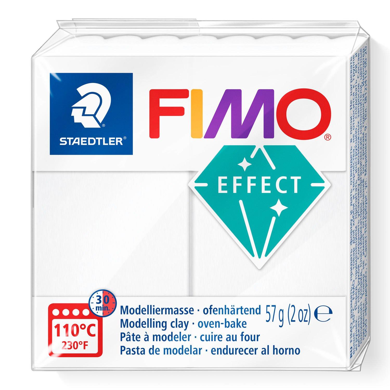 STAEDTLER FIMO 8020 - Modellierton - Durchscheinend - Weiß - Erwachsene - 1 Stück(e) - 1 Farben - 110 °C