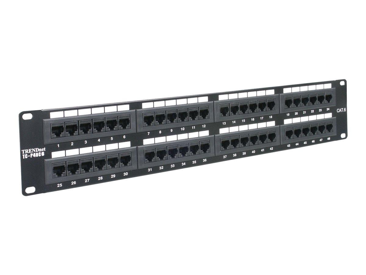 TRENDnet Patch Panel - 48 Ports
