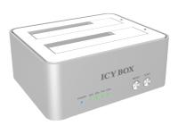 """ICY BOX IB-120CL-U3 - Massenspeicher Controller mit Datenanzeige, Netzanzeige, Ein/Aus-Schalter - 2,5""""/3,5"""" gemeinsam genutzt"""