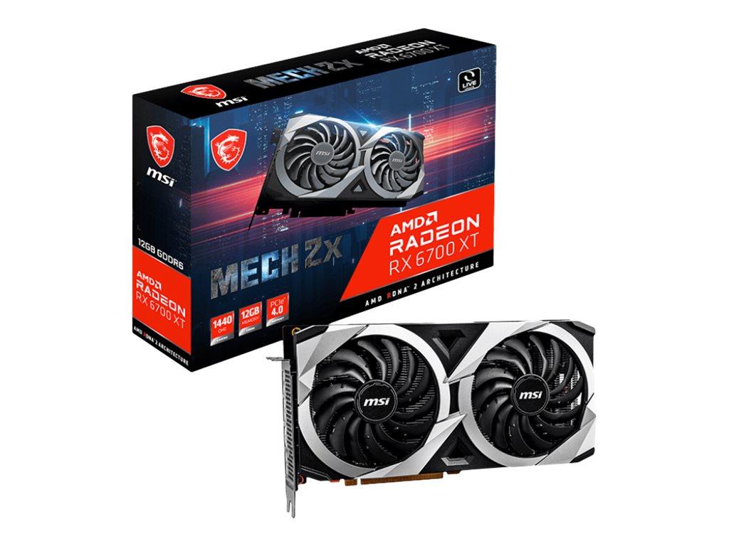 Vorschau: MSI Radeon RX 6700 XT MECH 2X 12G - Grafikkarten