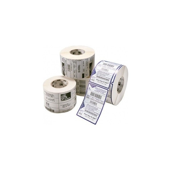 Zebra Z-Perform 1000D - Papier - permanenter Klebstoff - unbeschichtet - 51 x 25 mm 5860 Etikett(en) (10 Rolle(n)