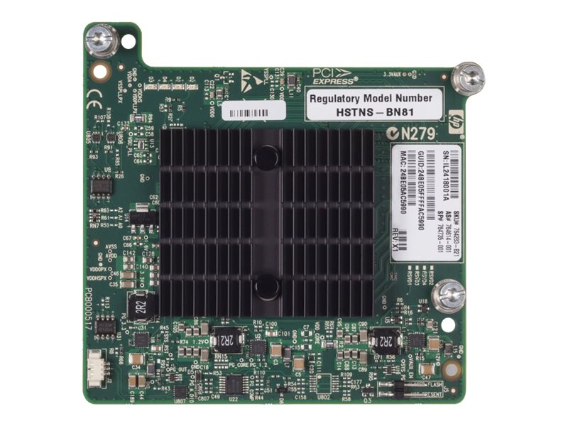 HP IB FDR/EN 40Gb 2P 544+M Adptr (764283-B21)
