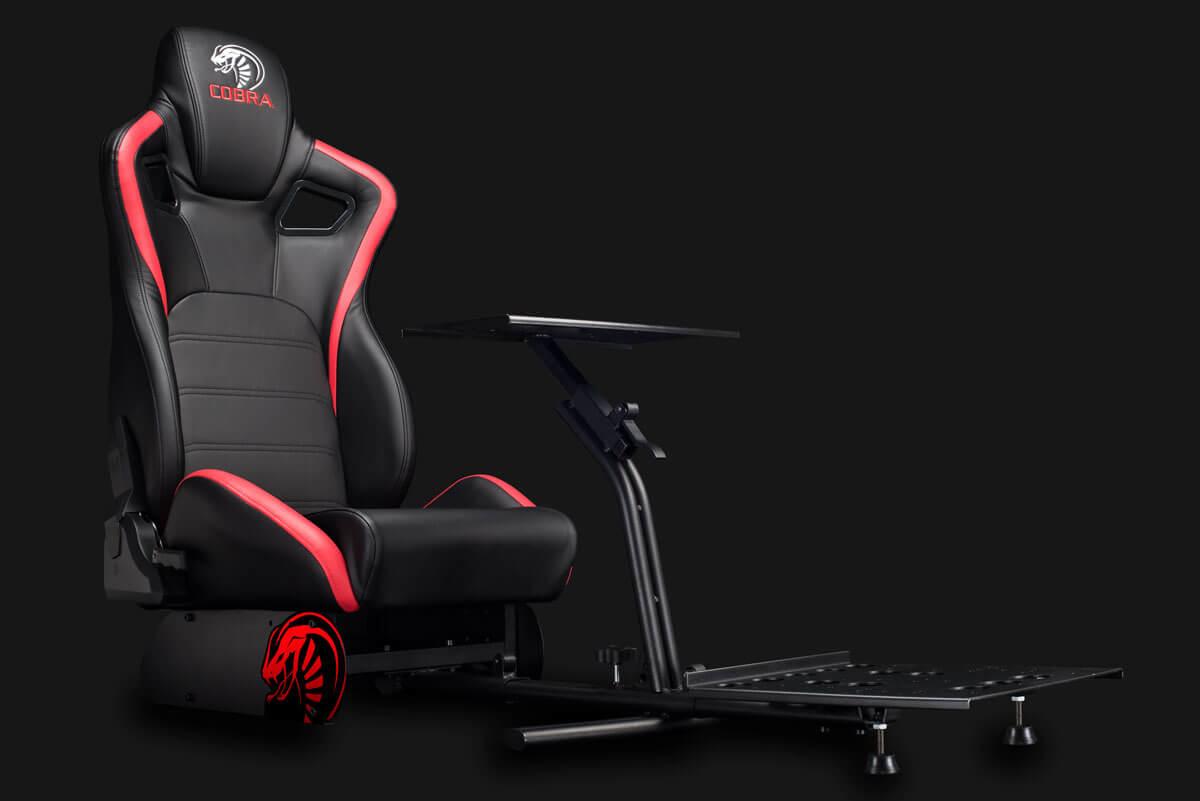 Vorschau: Nitho Cobra RM-1 S - Universal-Gamingstuhl - Universal - Schwarz - Rot
