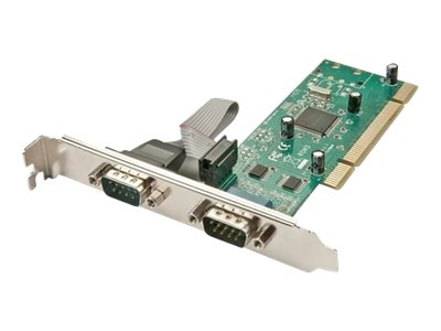 Lindy Serieller Adapter - PCI - RS-232 x 2