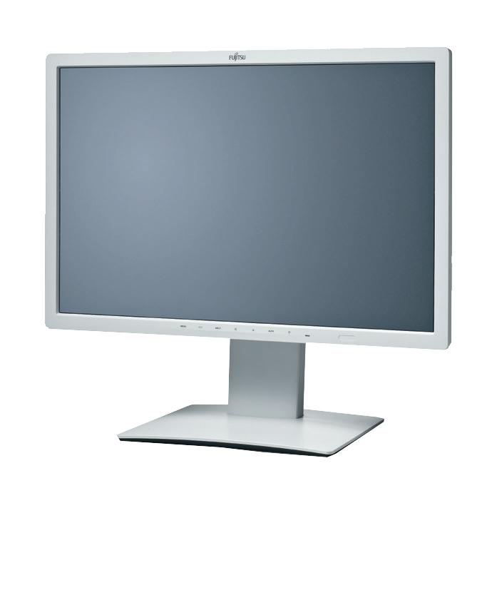 Fujitsu B line 24W-7 24Zoll WVA Grau Computerbildschirm
