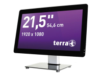 TERRA 2211 GREENLINE 3GHz i5-7400 21.5Zoll 1920 x 1080Pixel Touchscreen Schwarz - Silber All-in-One-PC