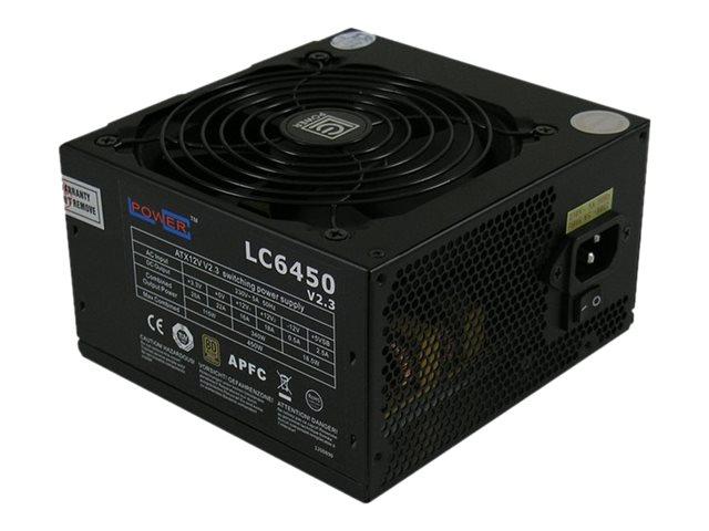 LC Power Super Silent Series LC6450 V2.3 - Netzteil (intern)