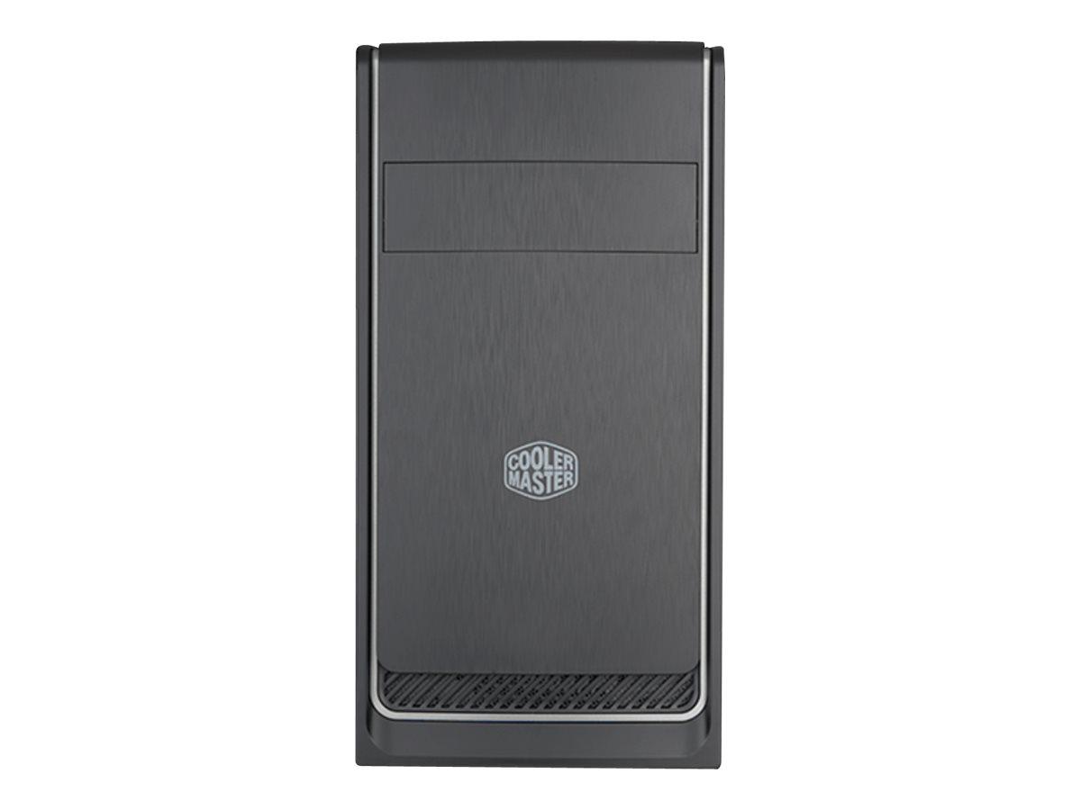 Cooler Master MasterBox E300L - Mini Tower - micro ATX - ohne Netzteil (ATX) - USB/Audio - Silber