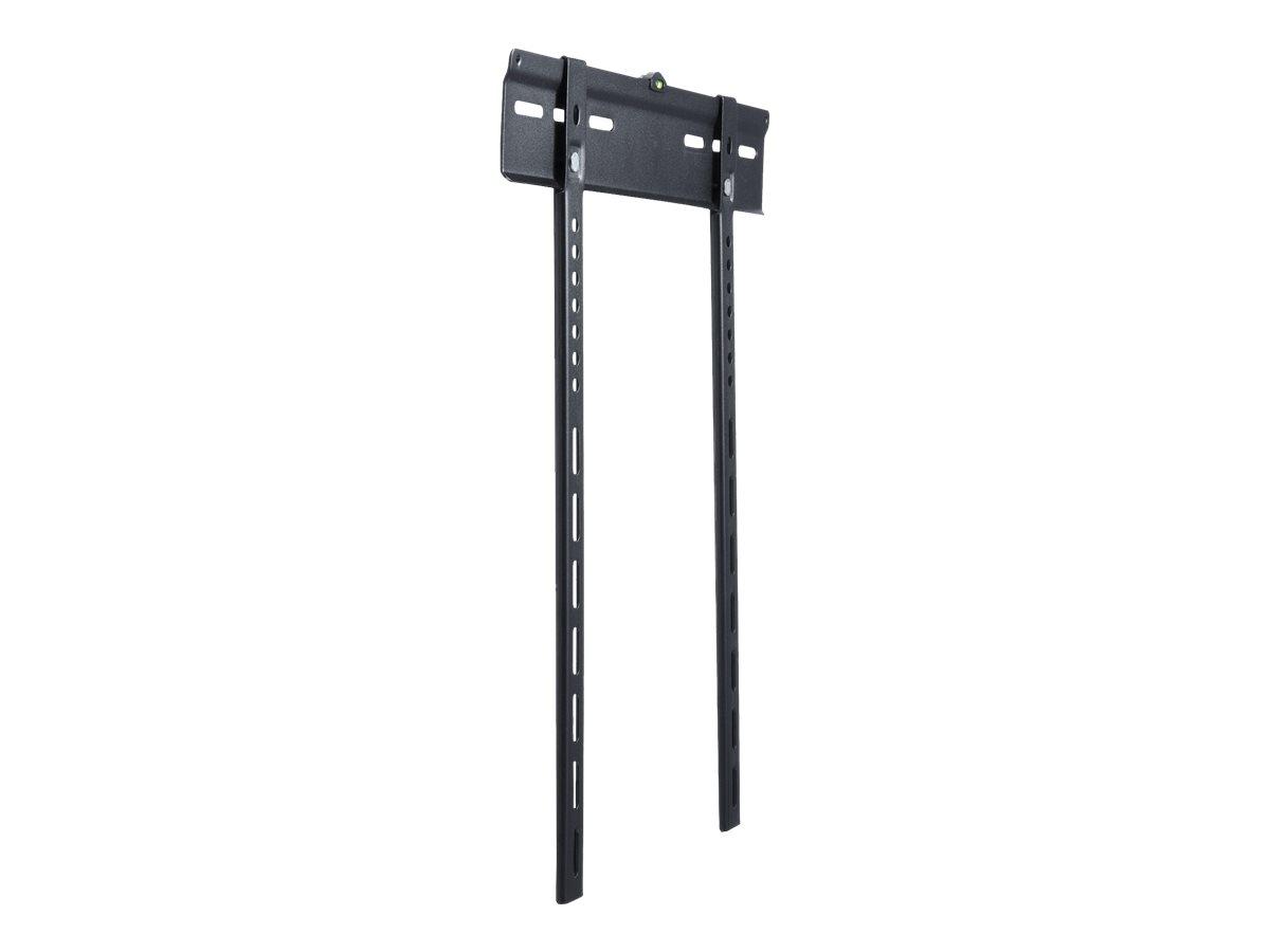"""equip Slim Fixed - Wandhalterung für LCD-/Plasmafernseher - kaltgewalzter Stahl - Schwarz - Bildschirmgröße: 81-140 cm (32""""-55"""")"""