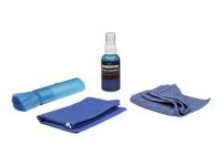 421010 LCD / TFT / Plasma Equipment cleansing wet/dry cloths & liquid Reinigungskit