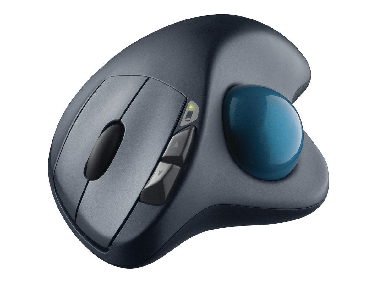 Logitech Wireless Trackball M570 - Maus - kabellos - 2.4 GHz - kabelloser Empfänger (USB)